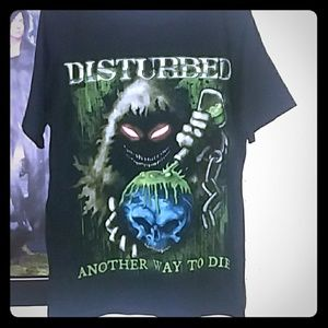 Men's Disturbed Band Tee